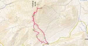 由布岳登山経路